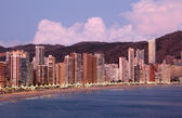 Benidorm, Spain — Stock Photo