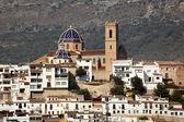 View of Mediterranean resort Altea, Spain — Stock Photo