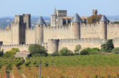 View of the old town Carcassonne, Southern France — Stock Photo