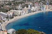 Mediterranean resort Calpe, Costa Blanca Spain — Stock Photo