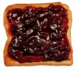 Royalty-Free Stock Photo: Toast with Jam