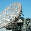 Tactical military satellite dish — Stock Photo
