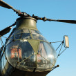 Military Helicopter H-21 - Stock Photo