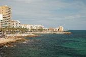 Mediterranean coast in Spain — Stock Photo