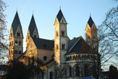 Saint Castor church in Koblenz, Germany — Foto Stock