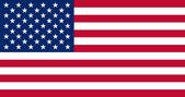 Bandera de estados unidos de américa — Foto de Stock