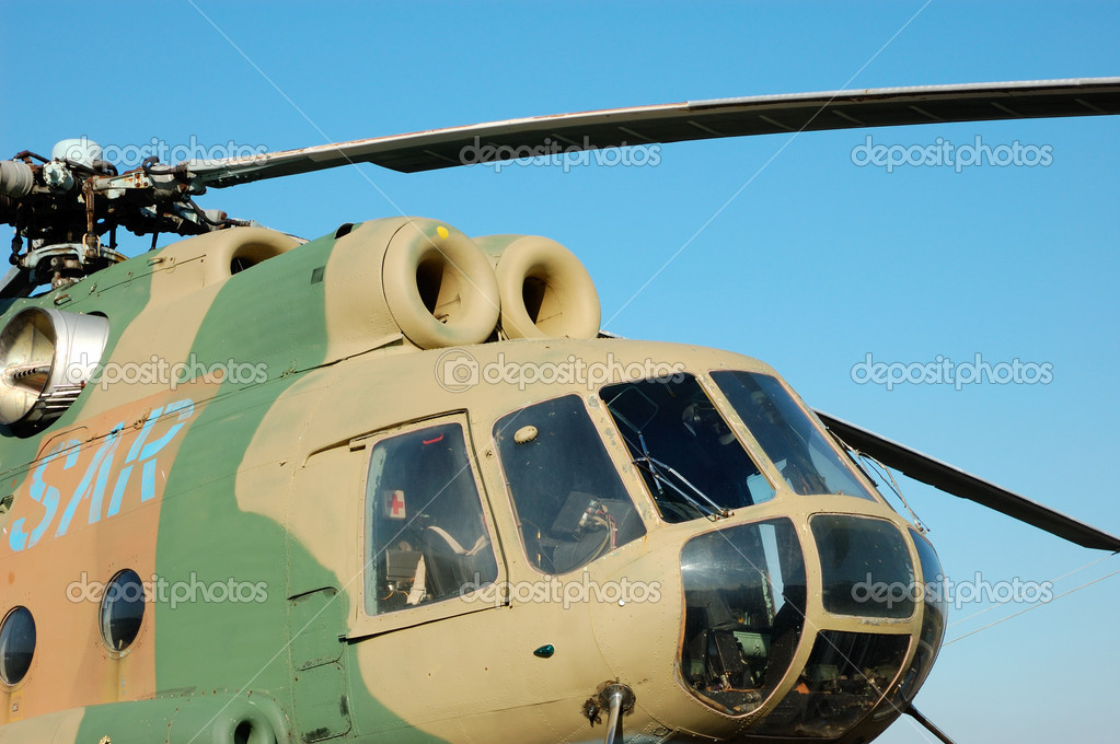 Russian Helicopter Mi-8  Stock Photo #7544280