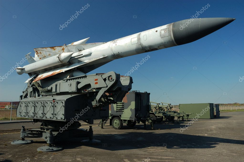 Missile — Stock Photo #7544360