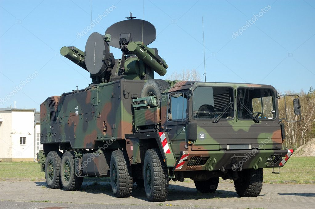German Military Truck — Stock Photo #7544375