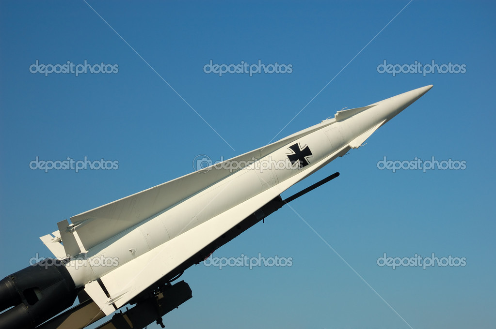 German Missile — Foto Stock #7544378