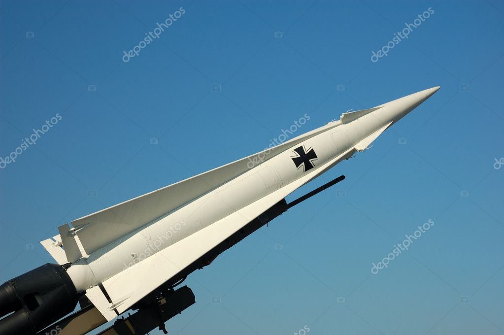 German Missile — Stockfoto #7544378