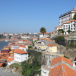 View over Ribeira - the old town of Oporto, Portugal — Stock Photo #7575989