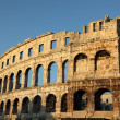 Ancient Roman Amphitheater in Pula, Croatia — Stock Photo