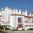 Colorful residential house in Algarve, Portugal — Stock Photo