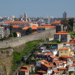View over Ribeira - the old town of Oporto, Portugal — Stock Photo #7577960