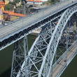 Stock Photo: Dom Luis I Iron Bridge in Porto, Portugal