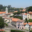 Stock Photo: View over the old town of Sintra, Portugal