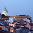 Alfama - the oldest district of Lisbon, Portugal — Stock Photo