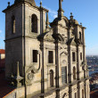 The Porto Cathedral - one of the oldest Romanesque Monuments in Portugal — Stock Photo