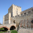 Stock Photo: Castle of Sao Jorge in Lisbon, Portugal