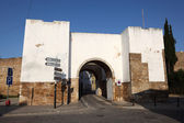 Gate to the old town of Faro, Algarve Portugal — Stock Photo