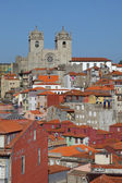 View over Ribeira - the old town of Porto, Portugal — Stock Photo