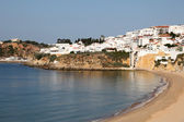 Albufeira beach in Algarve, Portugal — Foto Stock