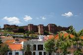 Town Silves, Algarve Portugal — Stock Photo