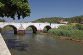Ancient Roman bridge in Silves, Portugal — Stock Photo