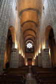 Interior of the Cathedral in Porto, Portugal — Stock Photo