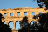 Roman Arena in Pula, Croatia — Stock Photo