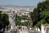 View from Bom Jesus do Monte, Braga Portugal — Stock Photo