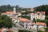 Pohled přes staré město sintra, Portugalsko — Stock fotografie