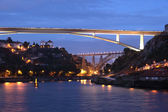 Bridges over the Douro river at Porto, Portugal — Foto de Stock