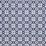 Traditional Portuguese mosaic - Azulejos — Stock Photo