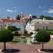 Square in ancient town Silves, Algarve Portugal — Stock Photo #7581003