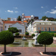 Square in ancient town Silves, Algarve Portugal — Stock Photo