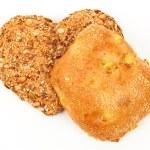 Heart shaped wholemeal bun — Stock Photo #7581357