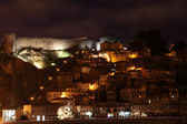 Old town of Porto at night, Portugal — Stock Photo