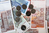 Kuna - Croatian Banknotes and Coins — Stock Photo