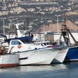 Fishing boats in port of Altea, Spain — Stock Photo #7607945