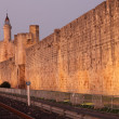 Stock Photo: Ramparts of medieval town Aigues-Mortes, France