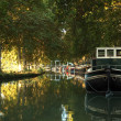 Canal du Midi in Beziers, southern France — Stock Photo #7663299