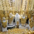 Jewelry at Dubai's Gold Souq — Stock Photo
