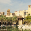 Hotel Madinat Jumeirah in Dubai, UAE — Stock Photo