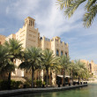 Hotel Madinat Jumeirah in Dubai, United Arab Emirates — Foto de Stock