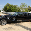 Black Retro Limousine Car — Stock Photo #7671088