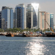 Modern Buildings at Dubai Creek - Foto de Stock