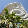Modern building in Dubai city - Foto Stock