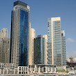 Highrise Buildings in Dubai Marina - Stock Photo